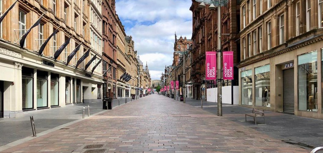 Mr. Gordon Knox: Serene not mean streets of Glasgow