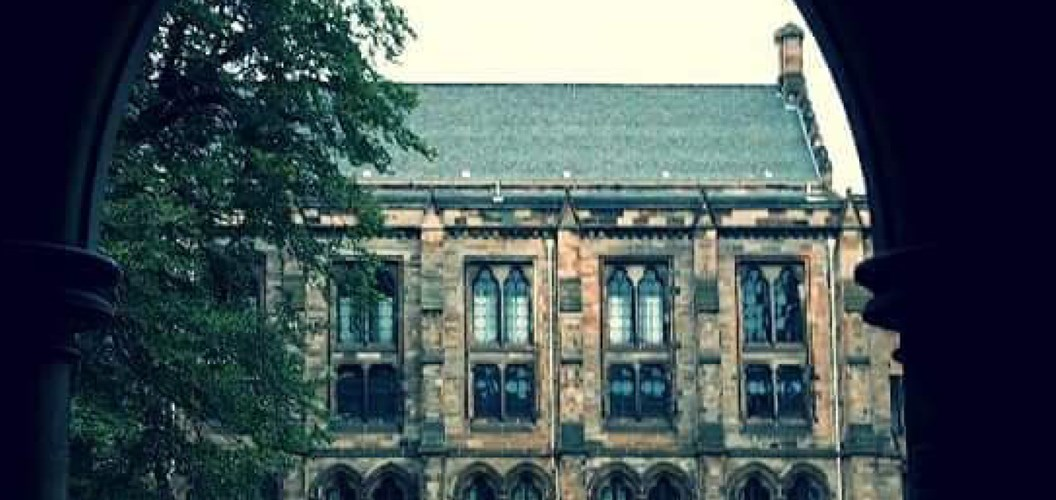 Kelly-Ann Butters: Tranquility at Glasgow University